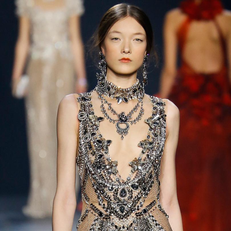 Самые яркие моменты New York Fashion Week 2016: Marchesa