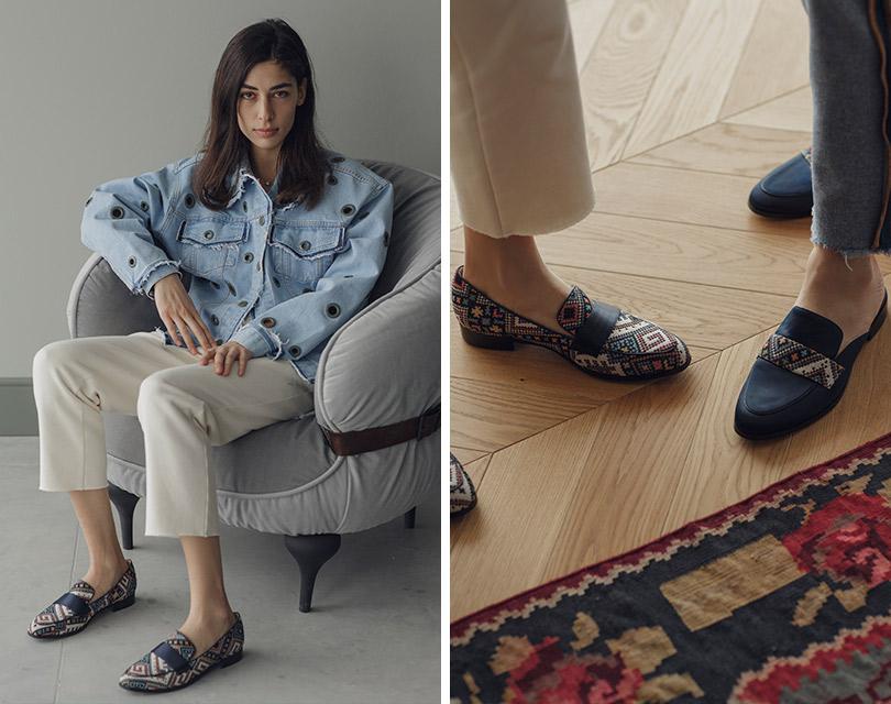 Презентация капсульной коллекции обуви Анки Цицишвили иPortal