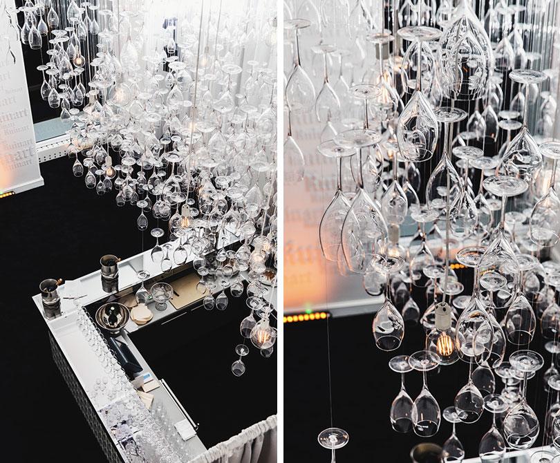 Открытие pop-up бара R Champagne Bar в «Метрополе»