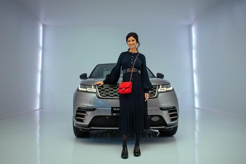 Российская премьера Range Rover Velar вМузее Москвы: Равшана Куркова