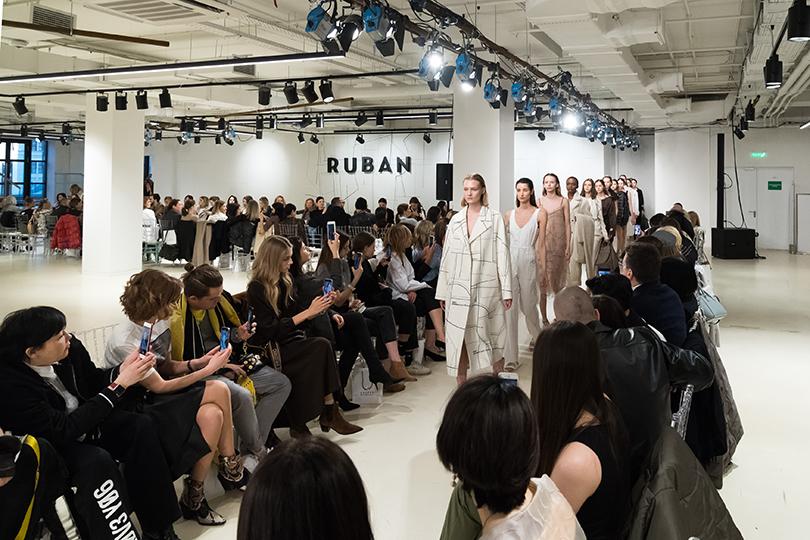 Показ осенне-зимней коллекции Ruban