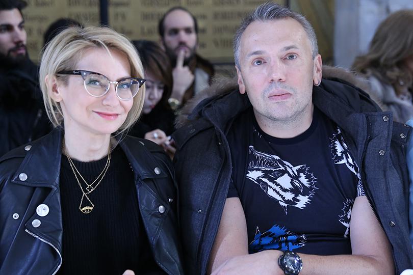 Vanity Fair с Марией Лобановой: показ Tony Ward в Париже. Эвелина Хромченко и Майк Шилов
