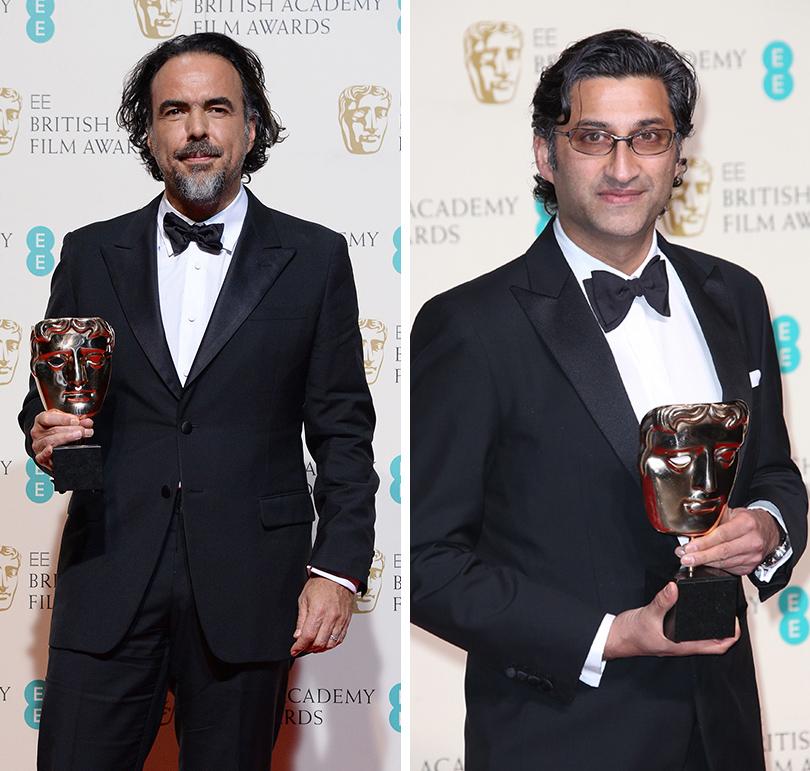Церемония вручения премий BAFTA 2016 в Лондоне: Алеханро Гонсалес Иньярриту. Азиф Кападиа