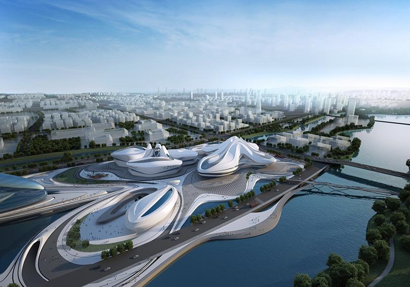 Международный центр культуры иискусства Чанша, Китай