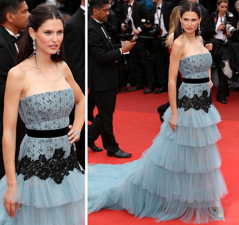 Cannes 2016: самые яркие звездные образы на церемонии открытия кинофестиваля. Бьянка Балти вукрашениях Chopard