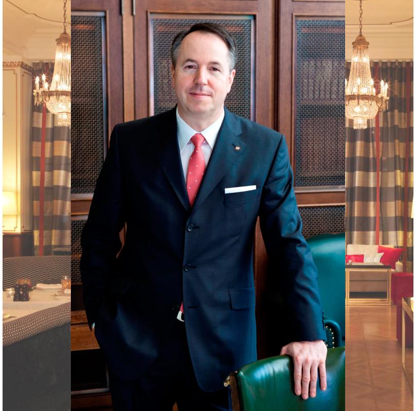 Генеральный директор отеля «Астория» в Санкт-Петербурге Герольд Хельд