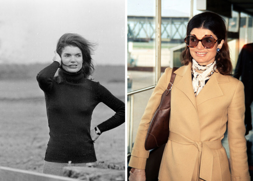 Style Notes: Натали Портман в роли fashion-иконы Джеки Кеннеди. Эволюция стиля Жаклин. 1969г. 1971г.