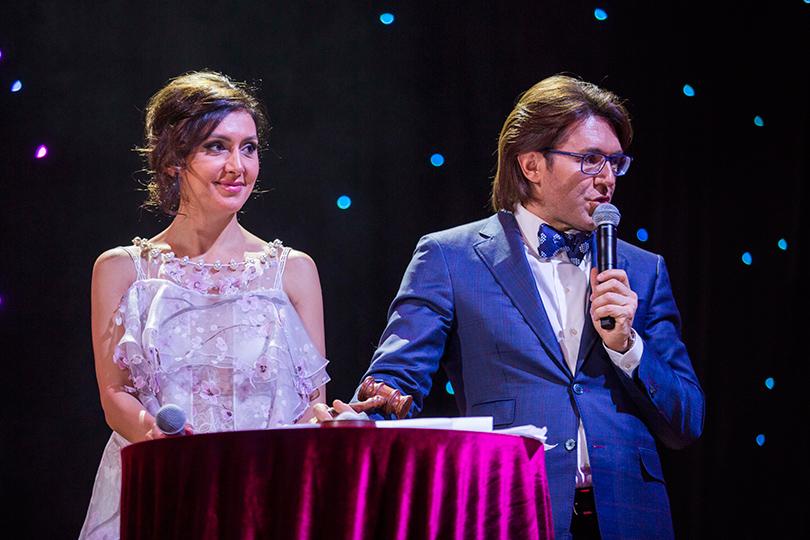 Екатерина Мцитуридзе и Андрей Малахов