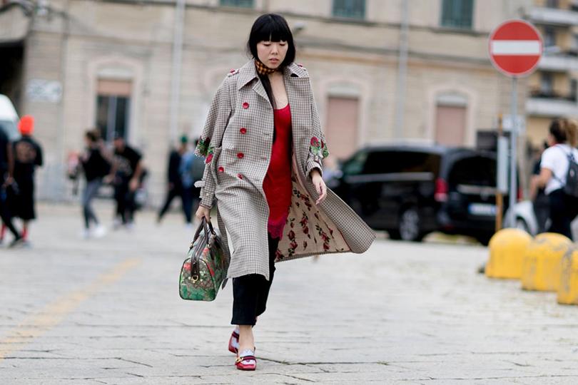 Street Style: уличный стиль на Неделе моды в Милане. Модный блогер Сьюзи Лау