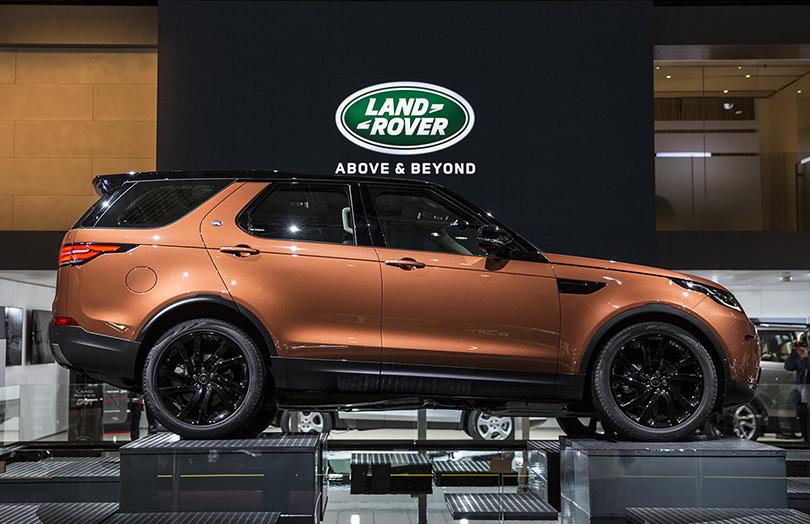 Авто с Яном Коомансом: что посмотреть на Парижском автосалоне. Land Rover Discovery
