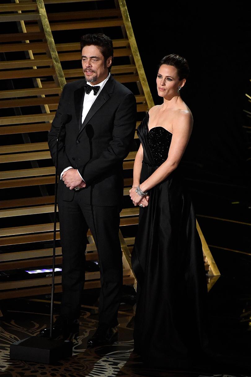 Oscars Special 2016: Бенисио дель Торо и Дженнифер Гарнер