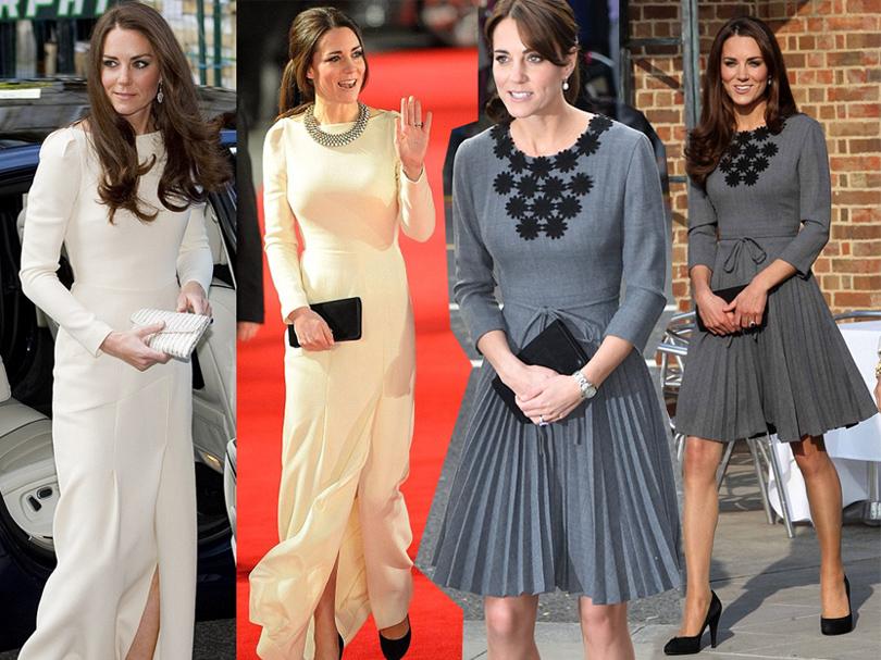 Тренд на outfit recycling: носить платья по два раза считают уместным Герцогиня Кембриджская Кейт Миддлтон