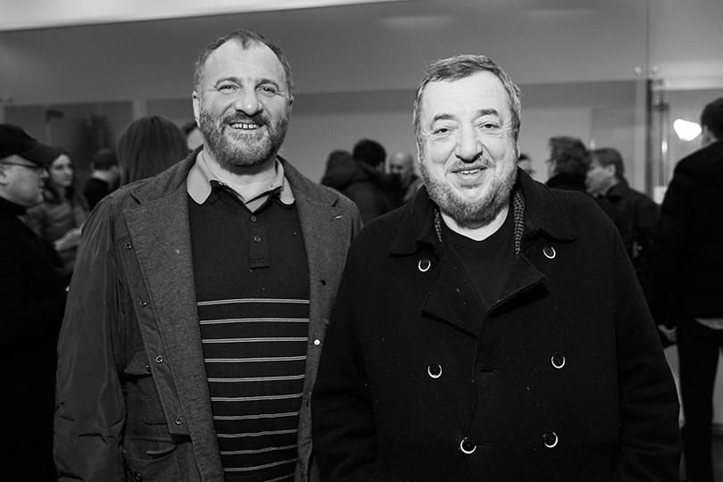 Емельян Захаров и Павел Лунгин