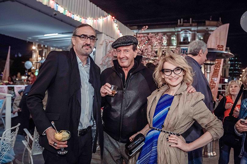 КиноТеатр: «Современник» отметил юбилей на Триумфальной площади. Дмитрий Семаков, Александр Раппопорт и Эвелина Хромченко