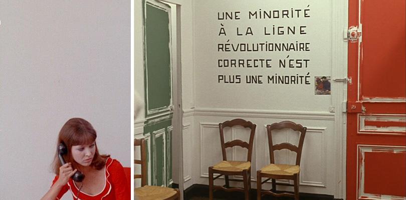Дар Годара: интерьер встиле французского кино