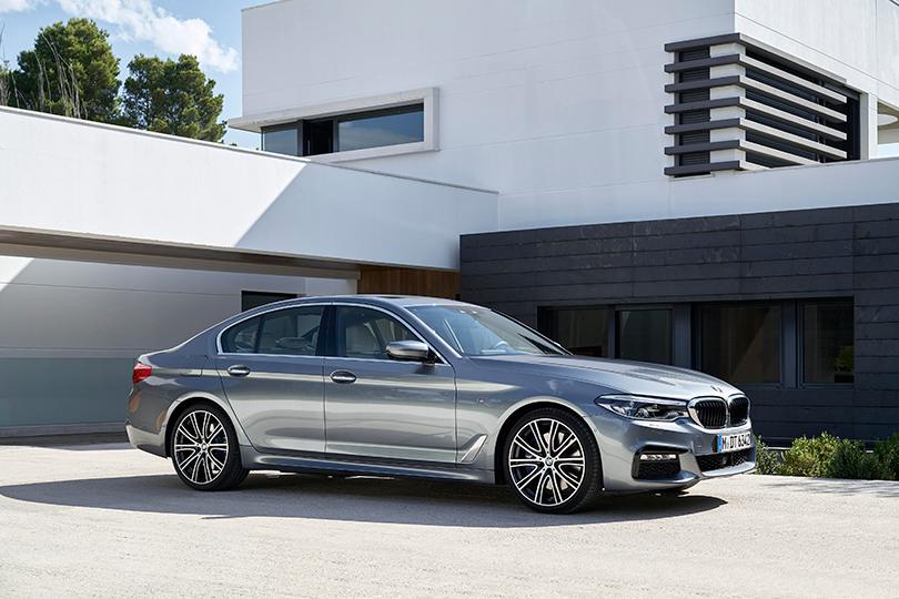 Новая модель BMW 5 серии