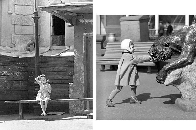 Июль.1958 Девочка ипантера. 1950-1960-е