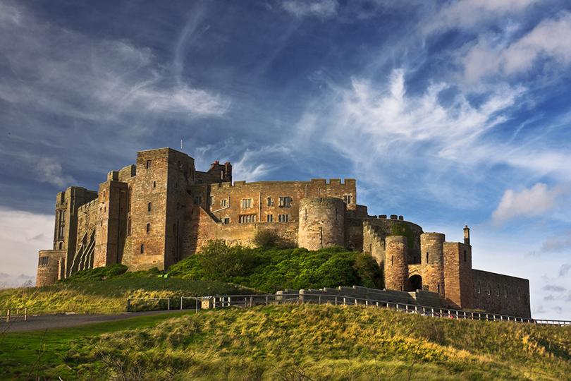 Живописные замки Великобритании. Замок Бамборо