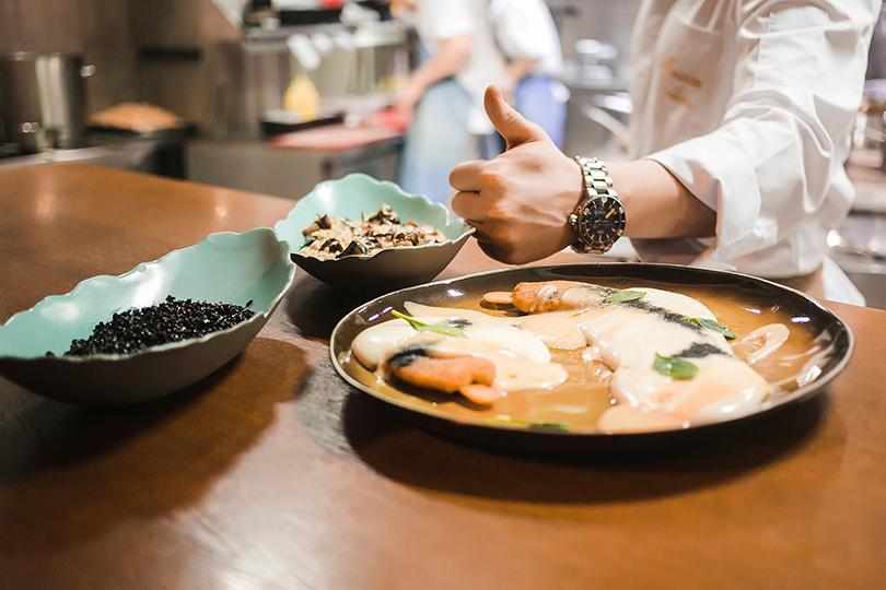 Светская хроника: закрытый ужин Daviani beauty &SPA иресторана The Mad Cook. Чёрное ризотто и котлеты-эскимо из филе дорадо и трубача