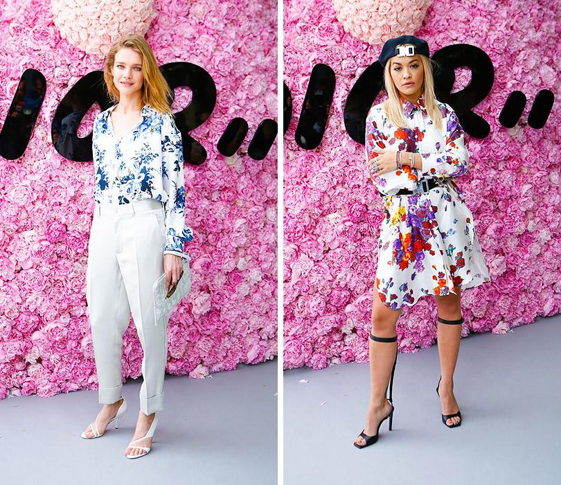 Первый показ Кима Джонса для Dior Homme. Наталья Водянова. Рита Ора