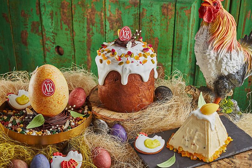 Пасха сминдалем, пшеничный пирог иимбирное печенье вресторане Christian
