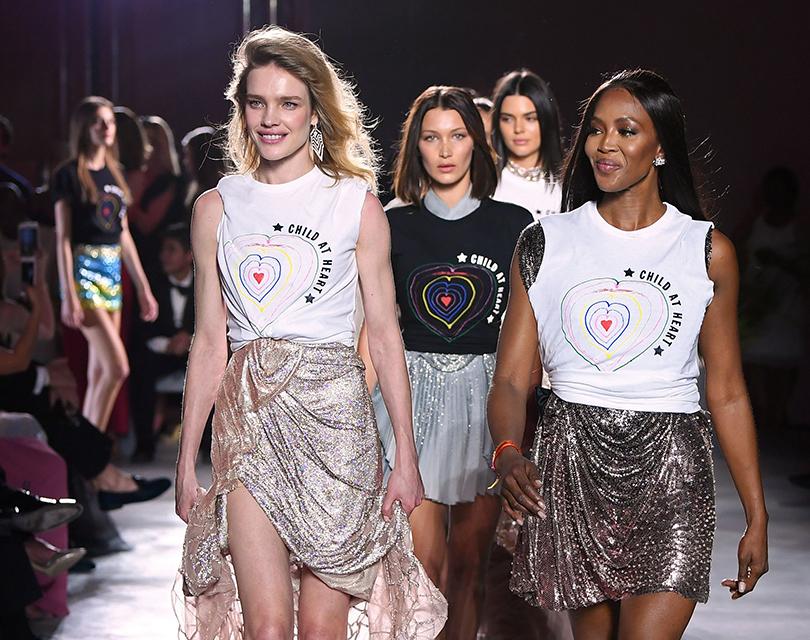 Канны-2017: благотворительный показ Fashion for Relief. Наталья Водянова, Белла Хадид, Кендалл Дженнер, Наоми Кэмпбелл