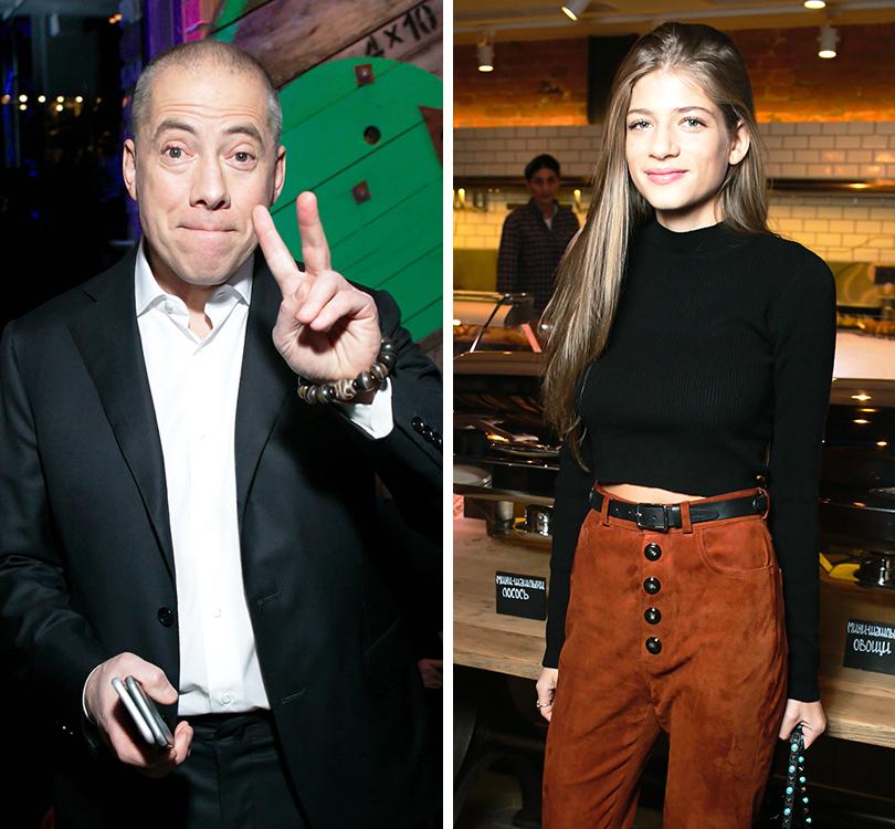Вечер «100 самых стильных мужчин» по версии GQ: Аркадий и Александра Новиковы