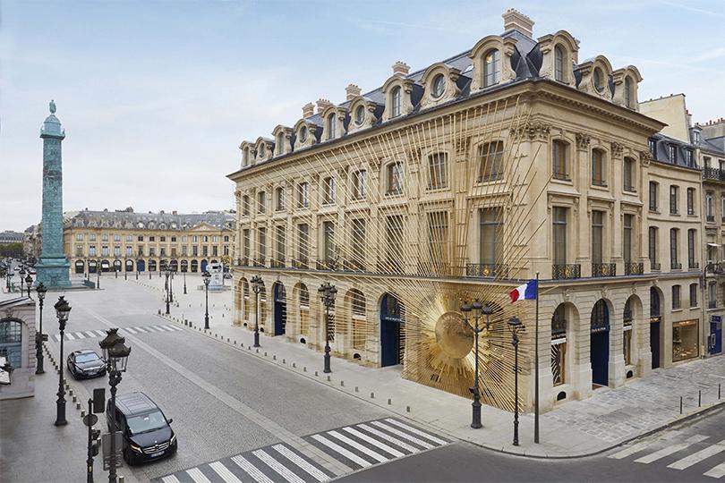 Открытие бутика Louis Vuitton наВандомской площади