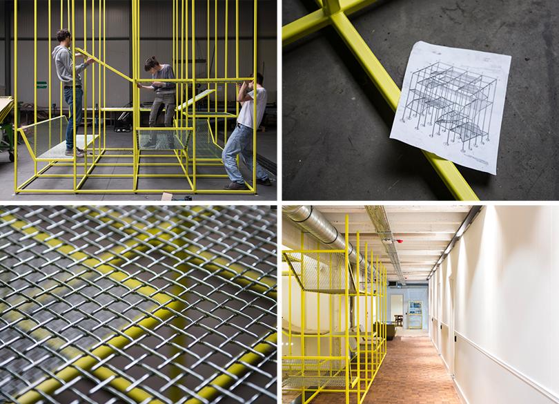 Дизайн &Декор: дизайнерский офис сOrgatec. Бренд BuzziSpace ибельгийский дизайнер Йонас Ван Пут представили проект Buzzijungle