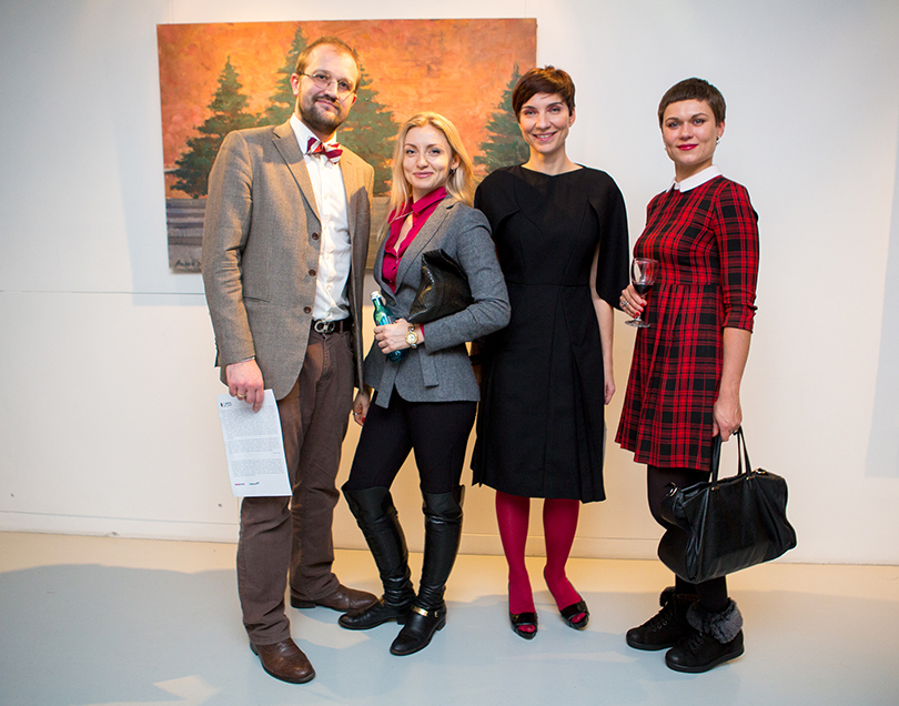 Катрин Борисов (RuArts) и гости выставки