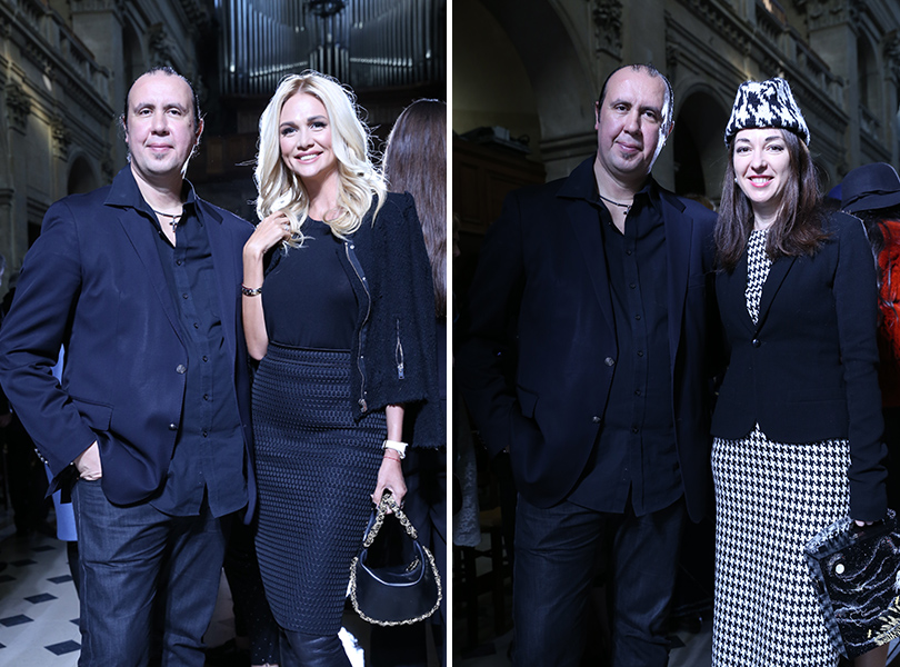 Vanity Fair с Марией Лобановой: показ Tony Ward в Париже. Тони Уорд с Викторией Лопыревой и Марией Лобановой