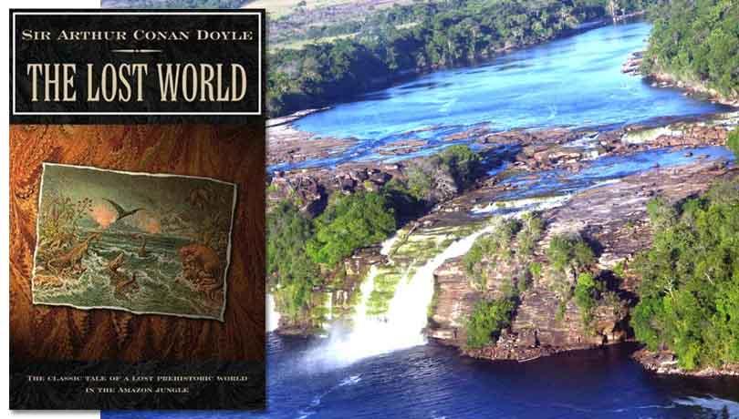 «Затерянный мир» Конан Дойля, водопад Анхеля
