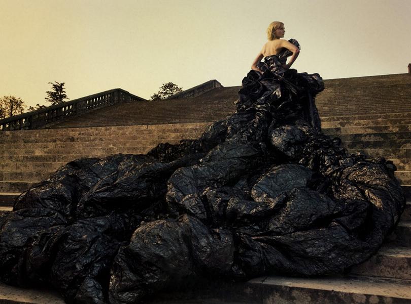 Психология успеха: Энни Лейбовиц. Как стать знаменитым фотографом. Кирстен Данст в объективе Лейбовиц для рекламы Dior