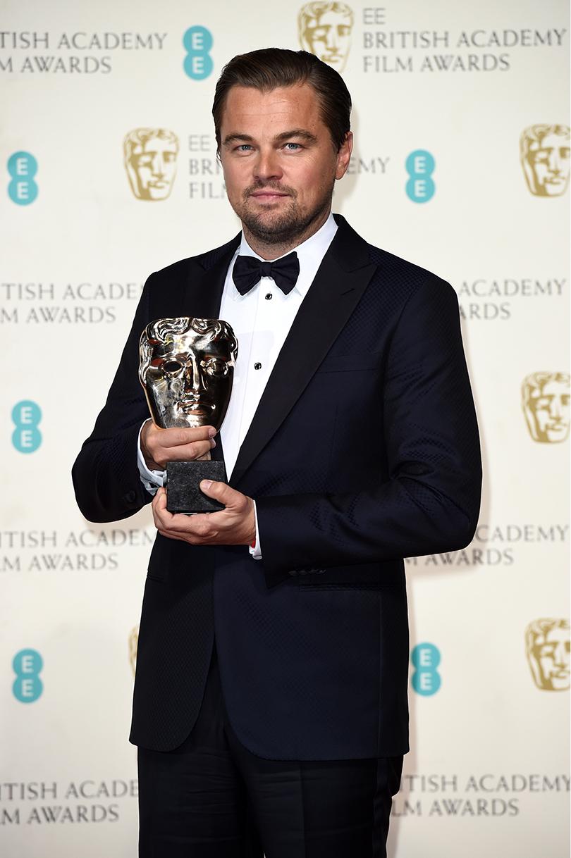 Церемония вручения премий BAFTA 2016 в Лондоне: Леонардо Ди Каприо