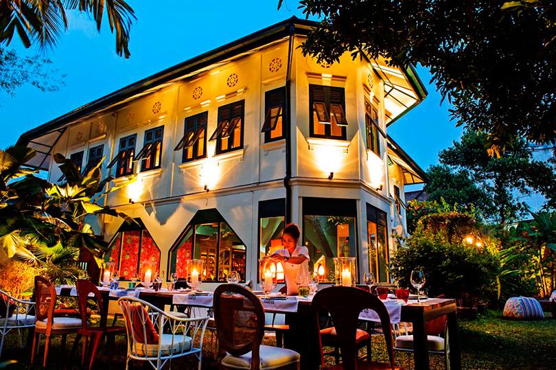 Бангкок. Все оттенки карри: Issaya Siamese Club