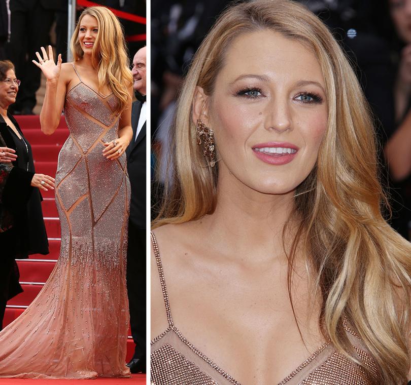 Cannes 2016: самые яркие звездные образы на церемонии открытия кинофестиваля. Блейк Лайвли вAtelier Versace