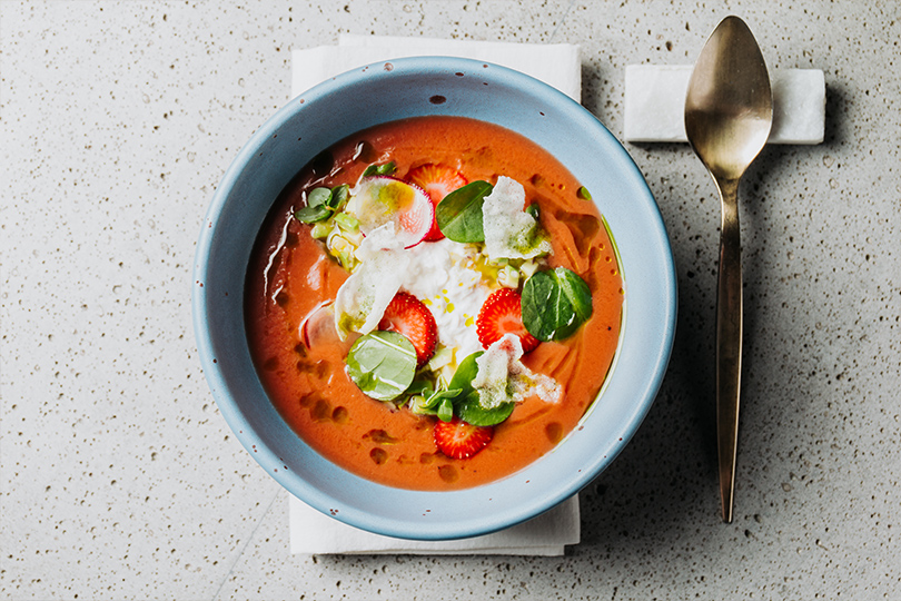 Всвоей тарелке: холодные супы вресторанах Москвы. Cevicheria