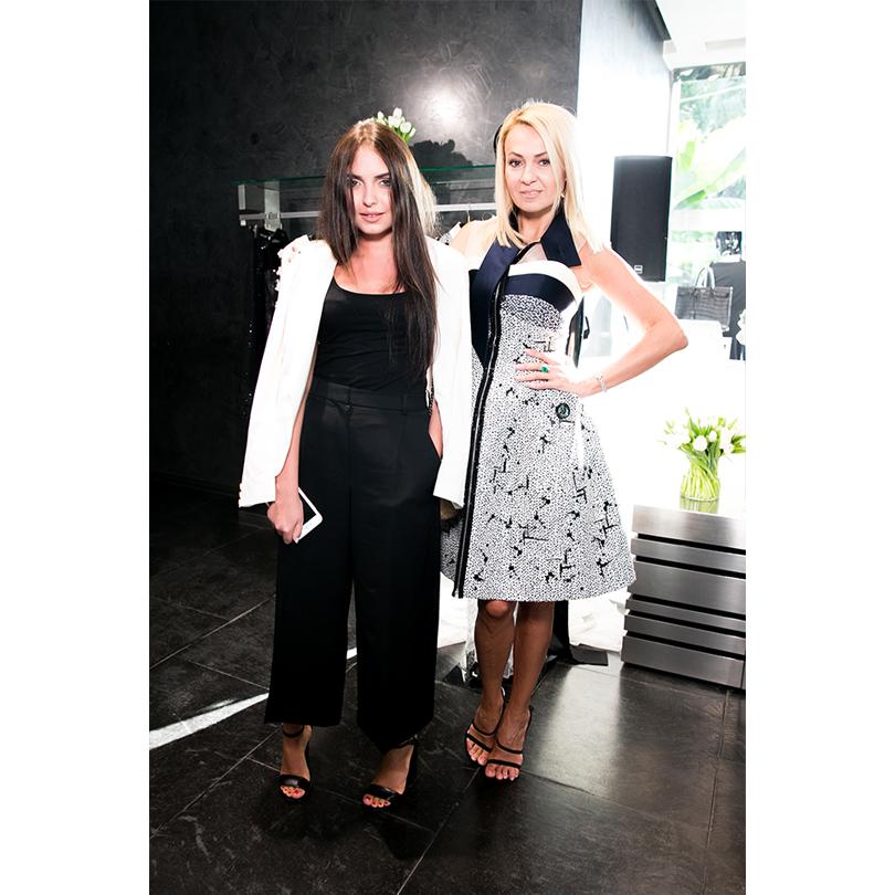 Edem Couture в Сочи: Мелисса Мустафа и Яна Рудковская