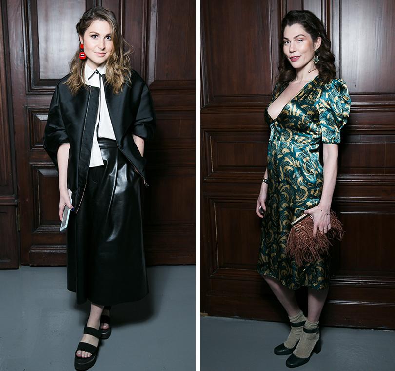 Закрытый ужин Vogue и бутика Farfetch: Лаура Джугелия. Евгения Линович