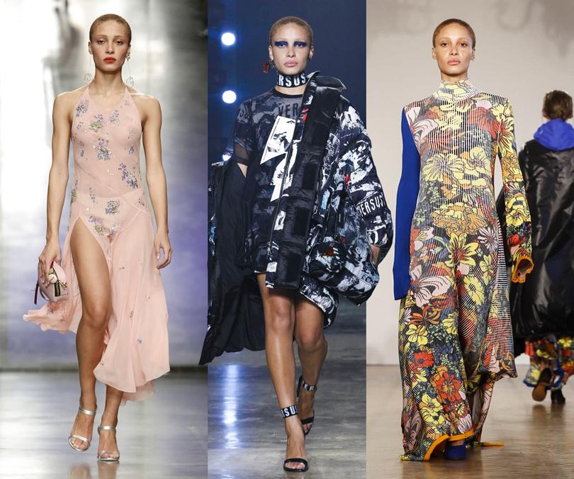 Style Notes: чем запомнился Лондон? Самые яркие моменты London Fashion Week. Topshop Unique, Versus Versace, Pringle ofScotland