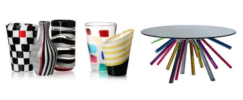 Вазы Versace Home хVenini 2010г. Стол Sunburst Table, Versace Home хVenini 2010г.