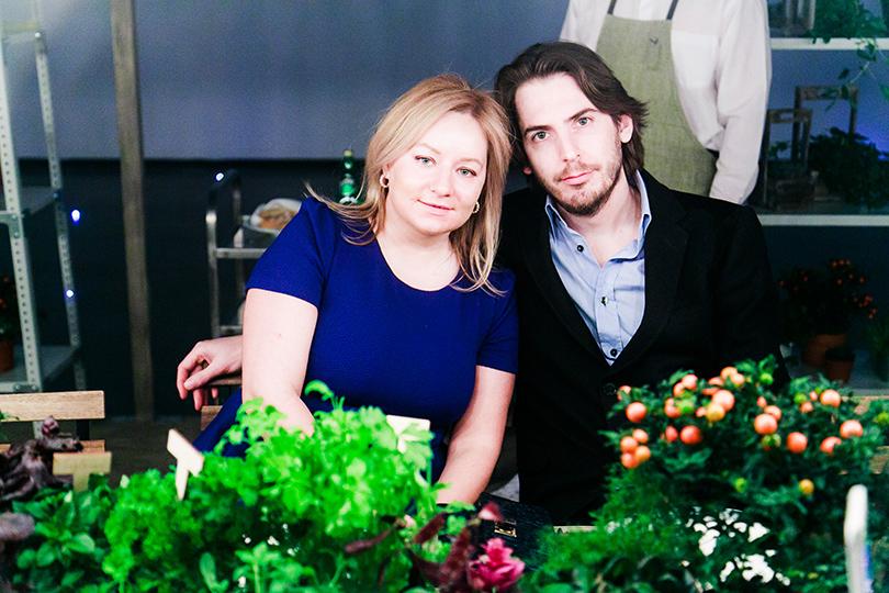 Гастрономический ужин Grey Goose L'Orangerie в Москве: Татьяна Сабуренкова и Ян Кооманс (Posta-Magazine)