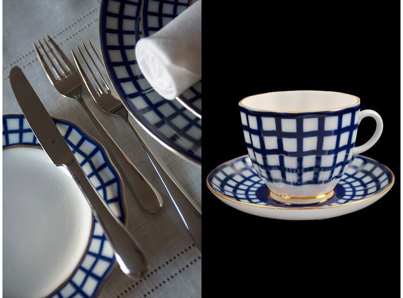 Сервиз, созданный «Императорским фарфоровым заводом» специально для ресторана Astoria Cafe