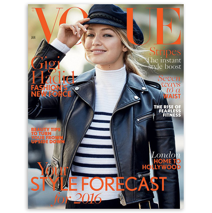 Men in Style: модная легенда Марлон Брандо. Джиджи Хадид наобложке Vogue (2016)