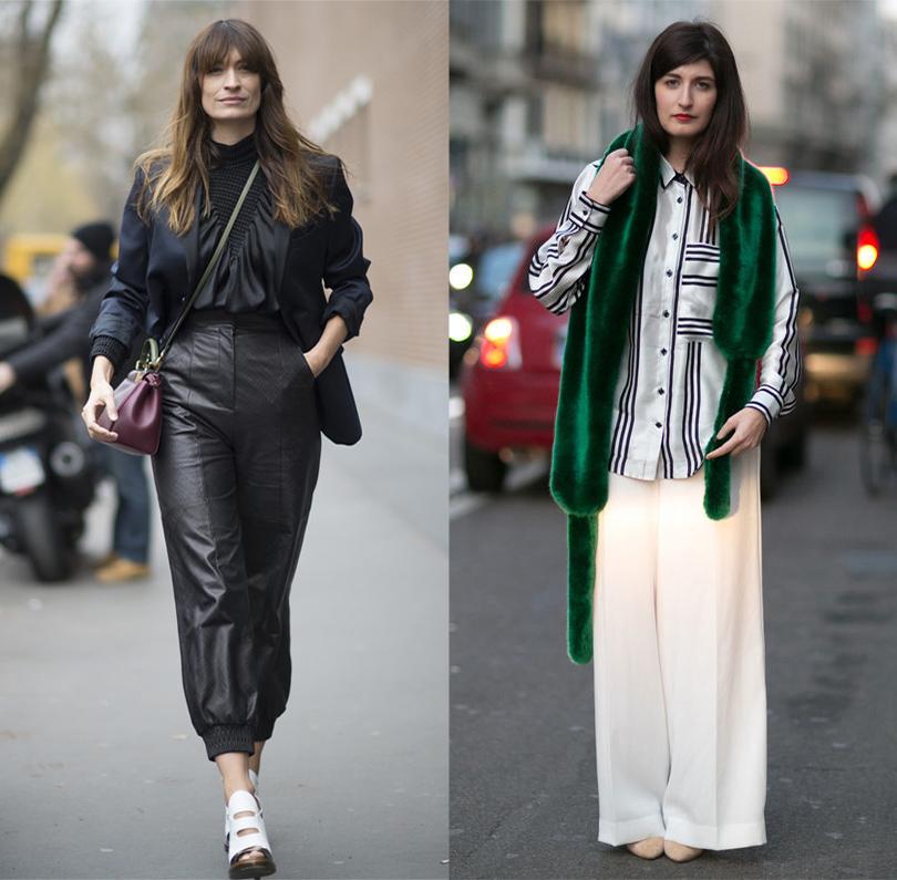 Лучшие образы street style на Неделе моды в Милане: Каролин де Мегрэ, модный блогер Валентина Сирагуса