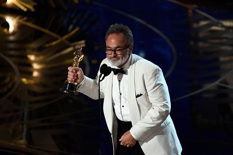 Oscars Special 2016: Колин Гибсон получает награду за«Безумного Макса»