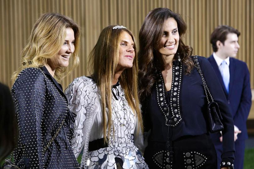 Показ Chanel на Неделе высокой моды в Париже: Анна Делло Руссо