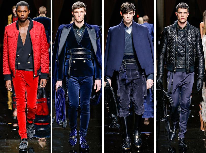Balmain. Men in Style: первый план. Лучшие показы с Недели мужской моды в Париже