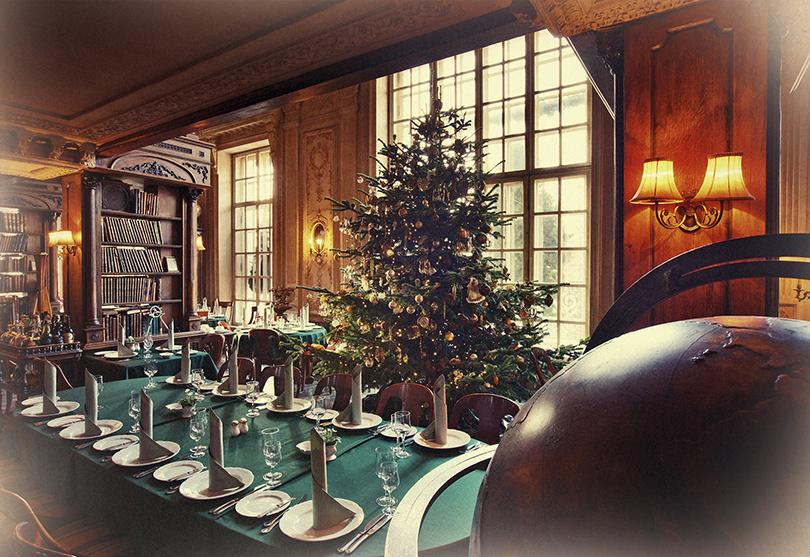 Новый год. Идея на каникулы: 15 праздничных сценариев в московских ресторанах. «Кафе Пушкинъ»
