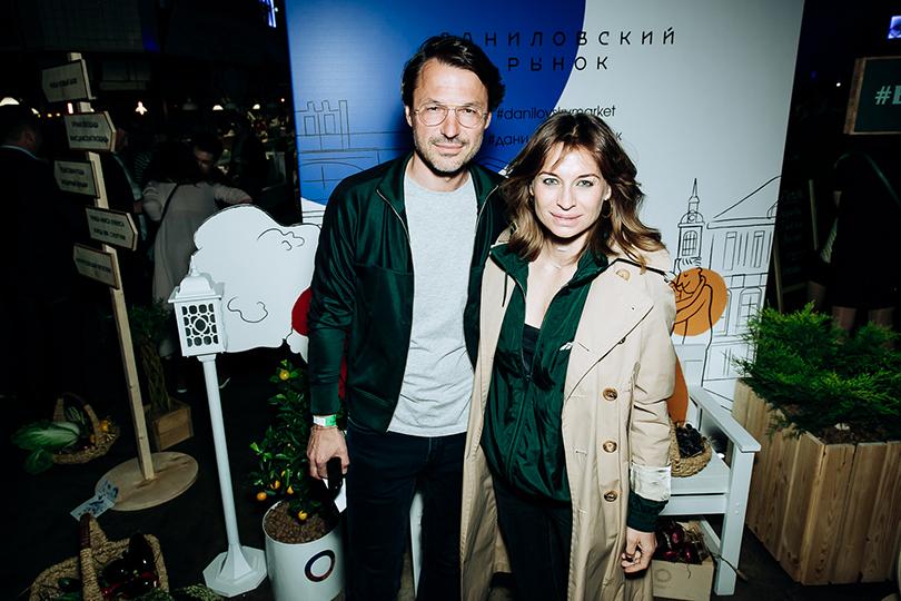 Открытие обновленного пространства Даниловского рынка: Сергей и Анастасия Рябцовы